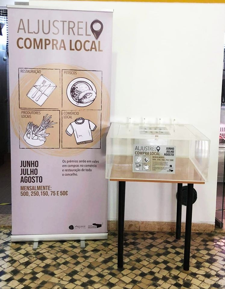 "campanha ""Aljustrel Compra Local"""