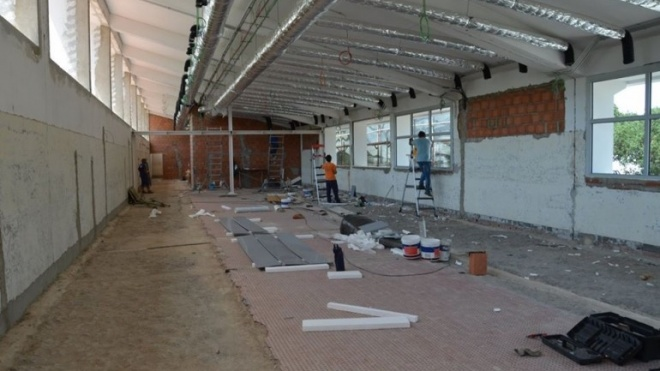 Obras de reabilitação do Mercado Municipal de Ferreira do Alentejo