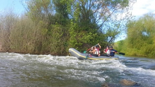 Rafting no Guadiana