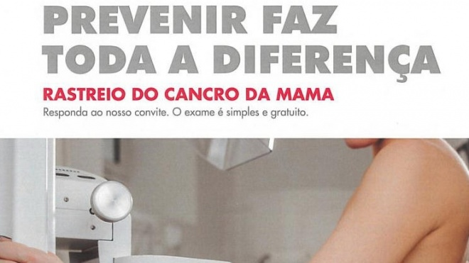 Rastreio do cancro da mama no concelho de Serpa