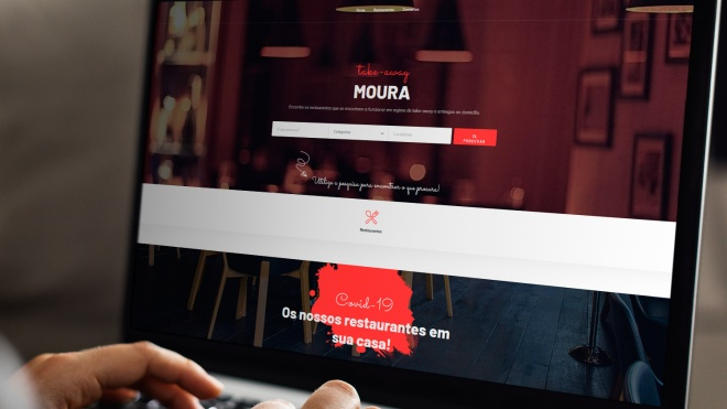 """Moura take-away"" é novo portal online do concelho destinado à restauração"