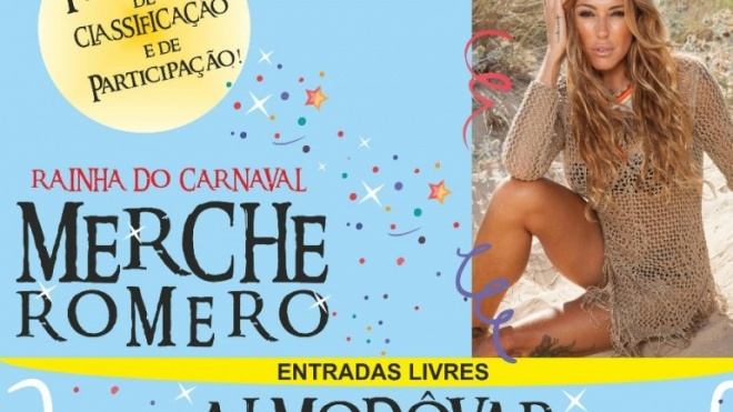 Merche Romero Rainha do Carnaval de Almodôvar